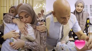 7 Momen Haru Mark Sungkar Temui Anak Zaskia Sungkar Usai Bebas dari Penjara