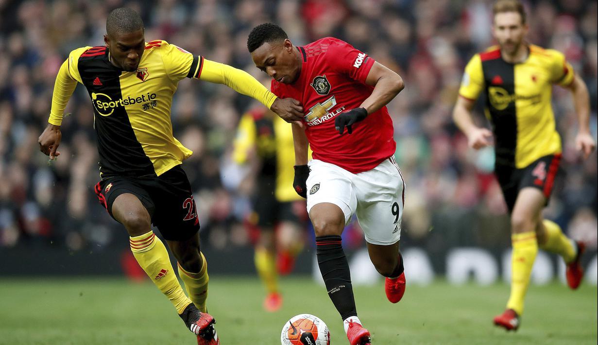 FOTO Manchester United Cukur Watford 3 0 Di Old Trafford