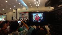 Ribuan Masyarakat Batak Deklarasi Dukung Jokowi-Ma'ruf. (Liputan6.com/Putu Merta Surya Putra)