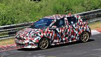 Toyota Yaris terbaru kembali terpergok sedang melakukan uji jalan.