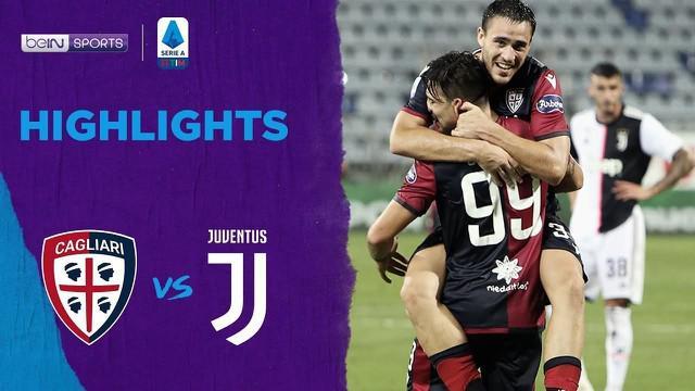 Berita video highlights laga Cagliari vs Juventus pada pekan ke-37 Serie A 2019-2020, di mana tim tuan rumah menorehkan dua gol ke gawang I Bianconeri, Kamis (30/7/2020) dini hari WIB.