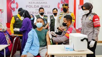 Upaya Aparat Polisi Capai Kekebalan Komunal di Lingkungan Kampus Riau