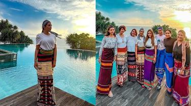 7 Potret Ashanty Liburan di Sumba, Sambil Jemput Asisten Rumah Tangganya