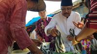 Gus Ipul menyambangi Banyuwangi (Liputan6.com/Dian Kurniawan)