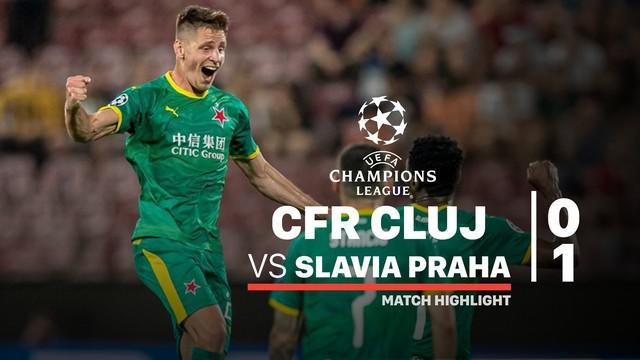 Berita video highlights playoffs Liga Champions 2019-2020 antara CFR Cluj melawan Slavia Praha yang berakhir dengan skor 0-1, Selasa (20/8/2019).