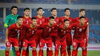 Skuat Vietnam U-23 di Kualifikasi Piala AFC U-23 2020. (dok. Zing.vn)