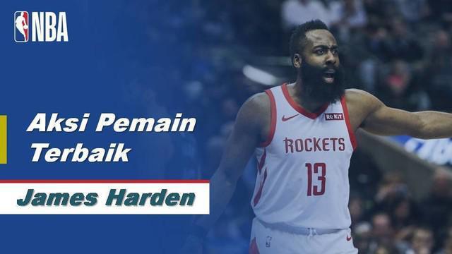 Berita Video Aksi Terbaik James Harden Saat Houston Rockets Kalahkan Phoenix Suns 125-139
