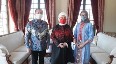 Pertemuan Ibu Negara Turki dan Duta Besar RI di Ankara