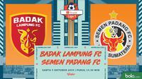 Shopee Liga 1 - Badak Lampung FC Vs Semen Padang FC (Bola.com/Adreanus Titus)