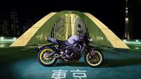 Yamaha untuk pertama kalinya memperkenalkan Yamaha MT-09 2017 di Mallorca, Spanyol, akhir pekan lalu (3/12/2016).