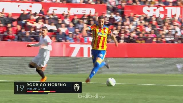 Valencia meraih kemenangan penting 2-0 atas Sevilla yang semakin mengokohkan posisi mereka di zona Liga Champions musim depan. Geo...