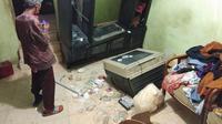 Rumah orangtua terduga pengeroyok anggota TNI (Liputan6.com/Ady Anugrahadi)