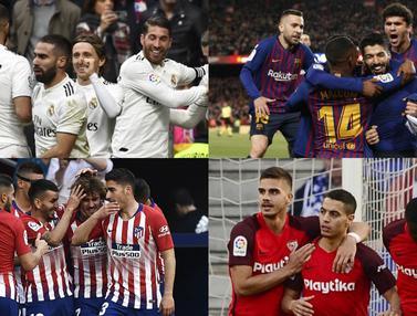 Klub La Liga dengan Skuat Termahal Musim 2018/19