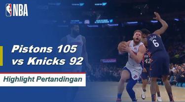 Blake Griffin mencetak 29 poin dan melepaskan delapan assist saat Detroit menang di New York.