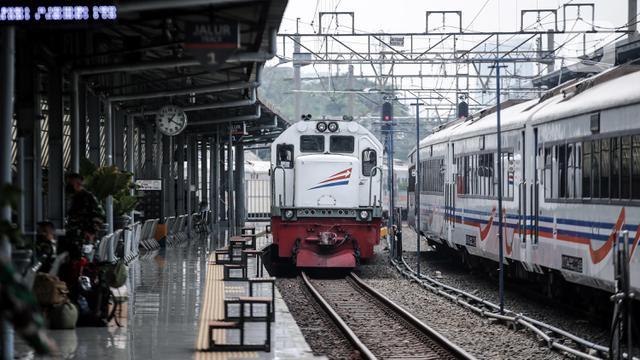 FOTO: PT KAI Tambah Perjalanan Kereta Api Jarak jauh