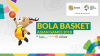 Bola Basket Asian Games 2018. (Bola.com/Dody Iryawan)