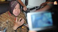 Risma kini tengah mendapat tekanan dari beberapa pihak terkait kepemimpinannya sebagai Wali Kota Surabaya (Liputan6.com/Herman Zakharia)