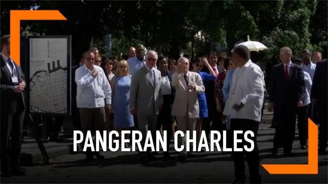 Pangeran Charles beserta rombongan keluarga kerajaan Inggris mengunjungi Kuba untuk pertama kalinya. Rombongan mengunjungi beberapa situs pariwisata di Kuba.