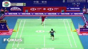 Lolos ke perempat final China Open 2018, Anthony Ginting akan hadapi Chen Long.
