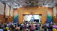Kemendikbud gandeng KPK awasi dana pendidikan 2019. (Liputan6.com/Nanda Perdana Putra)