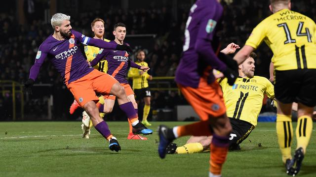 Burton v Manchester City