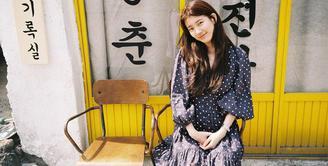 Saat ini Suzy menghadapi masalah yang rumit. Permasalahan ini bermula saat gadis cantik ini memberikan dukungan kepada Yang Ye Won yang menjadi pelecehan seksual. (Foto: instagram.com/skuukzky)