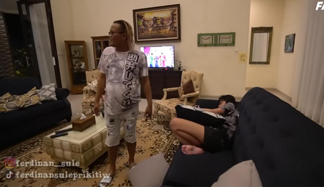Villa Sule di Puncak Bogor (Youtube/SULE FAMILY)