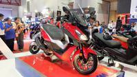SYM Cruisym 300i resmi masuk pasar Indonesia. (Septian/Liputan6.com)