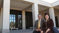 Susilo Bambang Yudhoyono dan Ani Yudhoyono saat di Museum Kepresidenan Goerge W. Bush di Dallas, Amerika Serikat (Dok.Instagram/@https://www.instagram.com/p/B6PoBqPJugo/Komarudin)