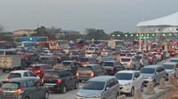 Kendaraan mudik di Tol Cikampek Utama. Dok: Jasa Marga