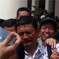 Muhammad Samhudi, guru SMP yang diadili gara-gara mencubit anak muridnya   Via: istimewa