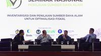 Direktur Jenderal Kekayaan Negara Isa Rachmatarwata mengungkapkan bahwa pentingnya penilai pemerintah memiliki kapasitas penilaian Sumber Daya Alam (SDA).