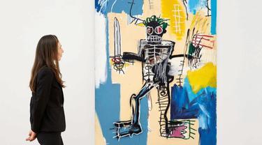 Lukisan Warrior Karya Basquiat Tembus Rekor Termahal di Asia