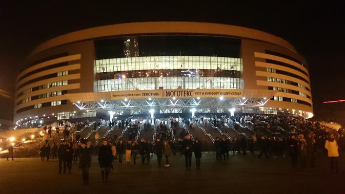 Minsk Arena, Belarus akan jadi salah satu venue 2nd European Games 2019 (wikimedia creative commons)