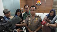 Kabag Penum Divisi Humas Polri Kombes Pol Asep Adi Saputra di Mabes Polri, Jakarta. (Liputan6.com/Ady Anugrahadi)