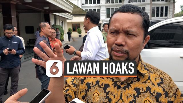 Asosiasi Media Siber Indonesia (AMSI) menyambangi kantor Menko Polhukam Mahfud MD, Rabu (27/11). AMSI melakukan pertemuan secara tertutup dengan Mahfud MD.