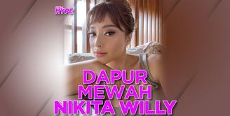 Intip Dapur Canggih Nikita Willy, Harganya Lebih dari Rp 1 Miliar