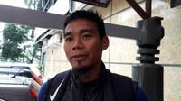 Eks pemain Persib yang kini resmi berlabuh di Borneo FC, Wildansyah. (Bola.com/Erwin Snaz)