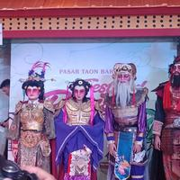 Perayaan Pasar Taoen Baroe di Kota Kasablanka (Foto: Vinsensia Dianawanti)