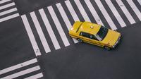 Ilustrasi taksi di Jepang (dok.unsplash/ Dil)