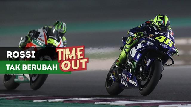 Berita video Time Out kali ini tentang hal-hal yang tak berubah dari pebalap MotoGP, Valentino Rossi.