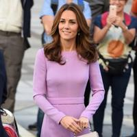 Kate Middleton di Global Ministerial Mental Health Summit, London, Inggris. (dok. Eddie MULHOLLAND / POOL / AFP/Asnida Riani)