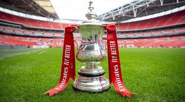 Piala FA logo trofi FA Cup