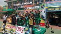 SMKN 1 Garut juara 1 kejuaraan futsal SMK-SMA se Jawa Barat (Liputan6.com/Jayadi Supriadin)