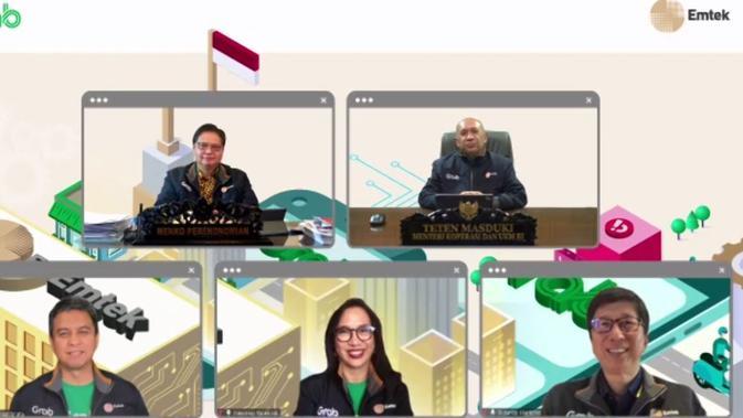 Emtek menjalin kerja sama dengan Grab untuk mendorong percepatan transformasi digital usaha mikro, kecil, dan menengah (UMKM) di Indonesia.