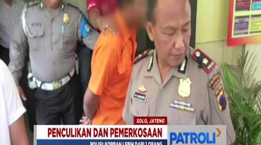 Tiga hari pasca-penangkapan, tersangka SP yang berusia 34 tahun terus diperiksa di markas Polsek Laweyan.