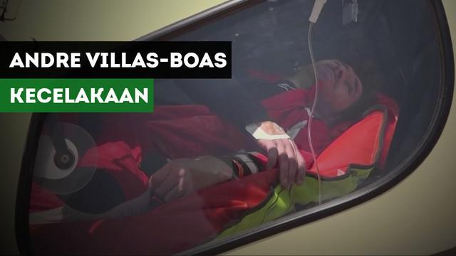 Mantan manajer Chelsea, Andre Villas-Boas mengalami cedera di etape keempat Reli Dakar.