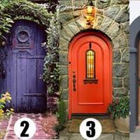 Menebak kepribadian bisa lewat pilihan pintu ini, lho. (Sumber foto: vemale.com)