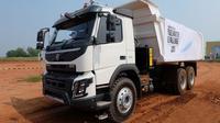 Volvo FMX 400, truk heavy duty berkualifikasi off road. (Septian/Liputan6.com)