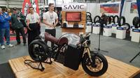Savic Alpha, cafe racer bertenaga listrik. (Rideapart)